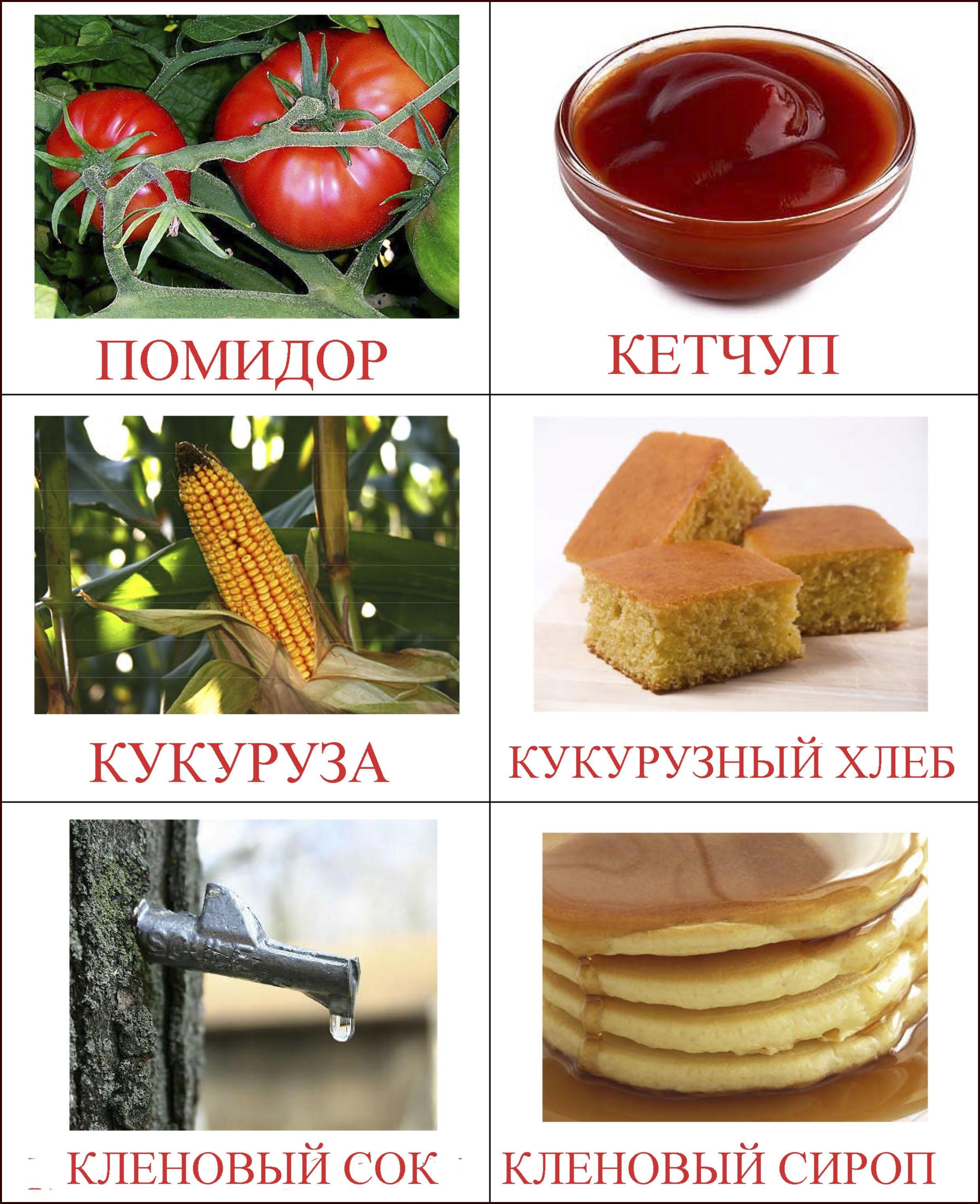 продукты картинка для детей 2