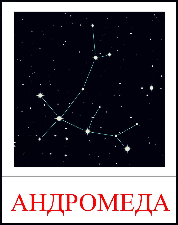 Созвездия на небе и их названия фото для детей