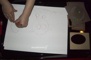 Трафарет для рисования