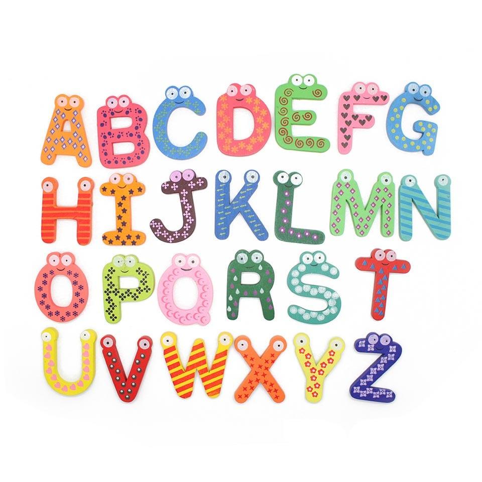 Веселые буквы английского алфавита