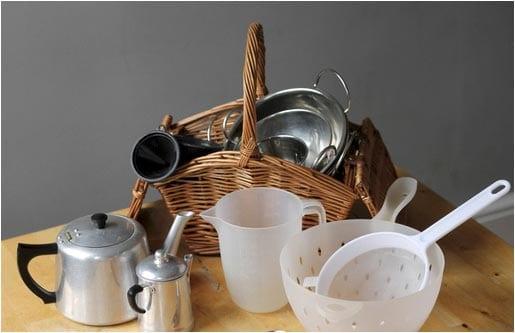 тема посуда