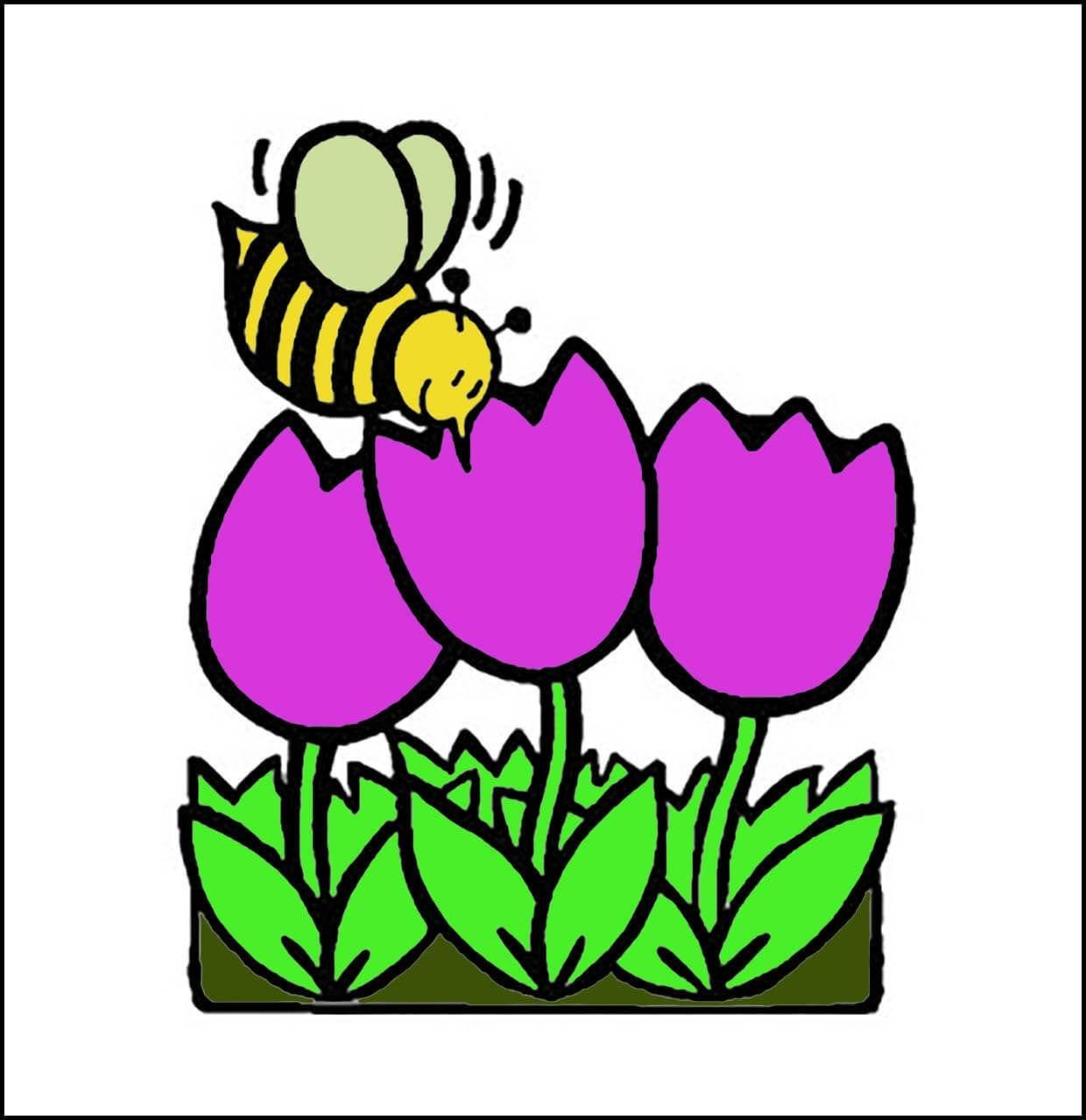 Картинка пчелка