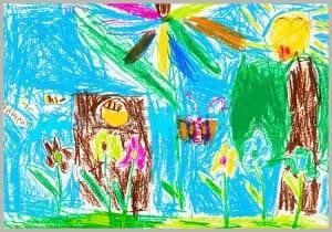 рисунок лето 10