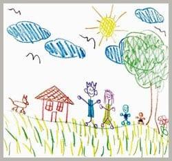 рисунок лето 11