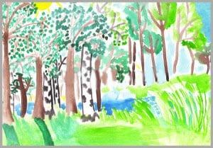 рисунок лето 2