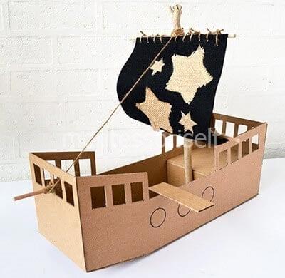 Корабль из коробки