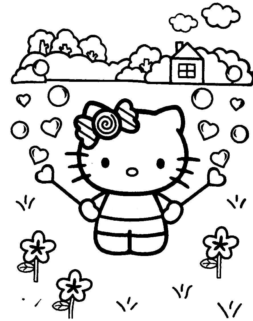 Раскраска для девочек 6 лет распечатать - 2