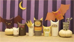 Поделки на хэллоуин для детей