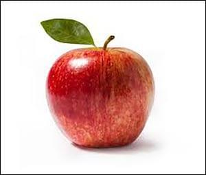 Яблоко картинка для детей 1