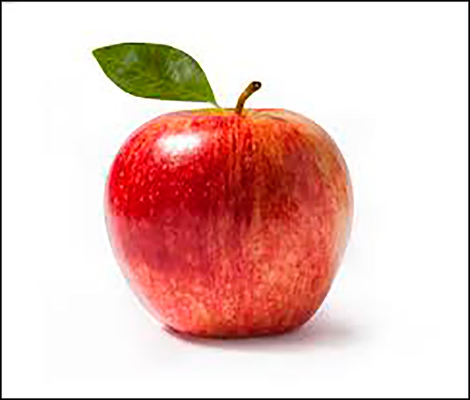 яблочко картинка для детей