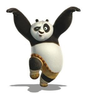 Панда картинка для детей 7