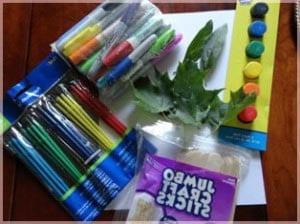 материалы для занятия