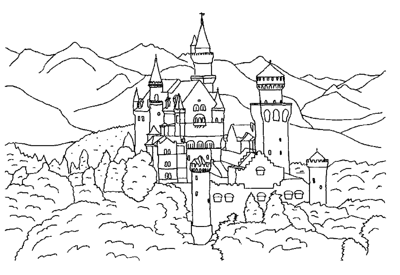 сказочный замок 1