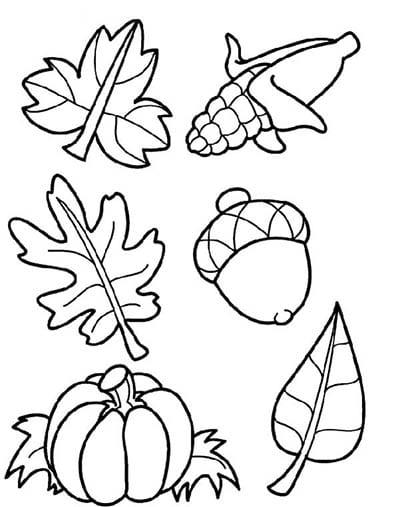 Осенние символы