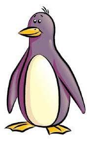 Пингвин картинка для детей 2