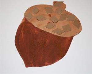 Рисунок желудь 4