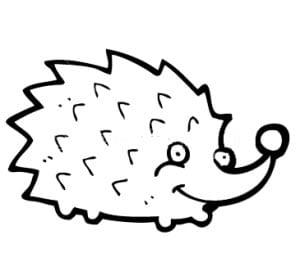 coloring a hedgehog 2