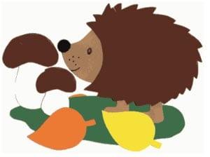Hedgehog picture for children 1