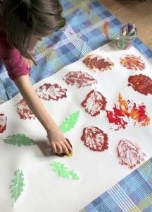 Рисунок листопад