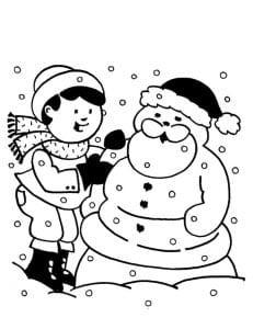 Снеговик - Дед Мороз