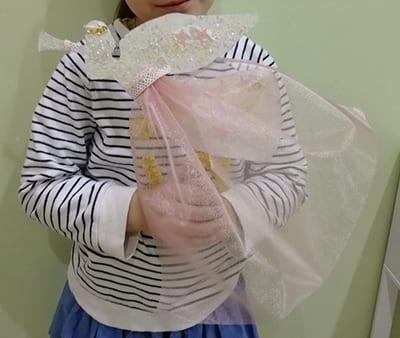 Ангел из бумаги и ткани