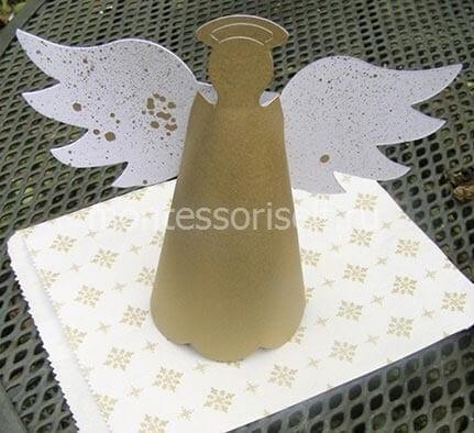 Ангел из картона своими руками