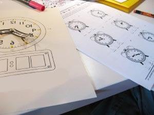 Часы своими руками из картона в школу 2