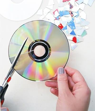 Разрезаем диск