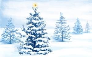 Новогодняя елка картинка для детей 11