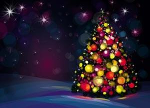 Новогодняя елка картинка для детей 6