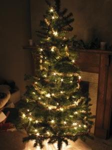 Новогодняя елка картинка для детей 8