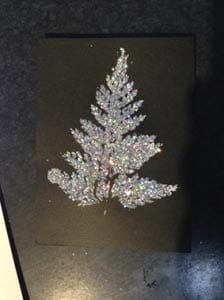 Новогодняя открытка елочка своими руками 6