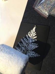 Новогодняя открытка елочка своими руками 4