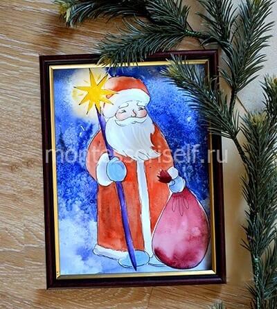 Картина в подарок на Новый Год