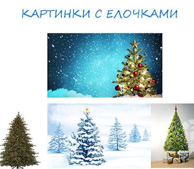 картинки с елками