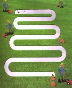 Лабиринт газонокосилка