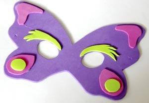 Карнавальная маска своими руками для детей 4