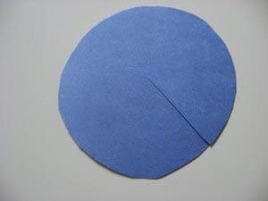 Надрезаем круг