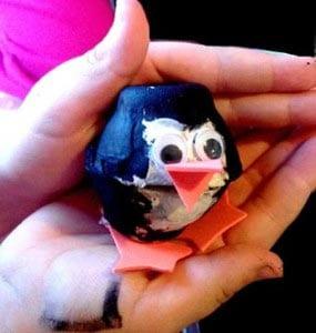 Пингвин своими руками 3