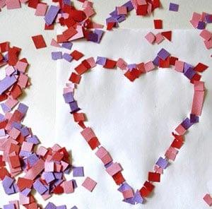Поделка для детей ко дню святого Валентина