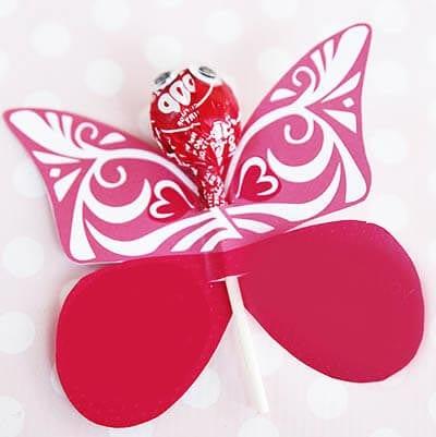 Бабочка из конфет своими руками фото 18