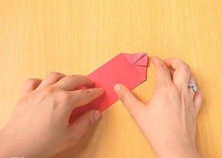 Объемный танк оригами 10