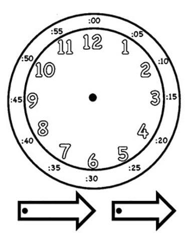 Обучение ребенка времен часы своими рукам