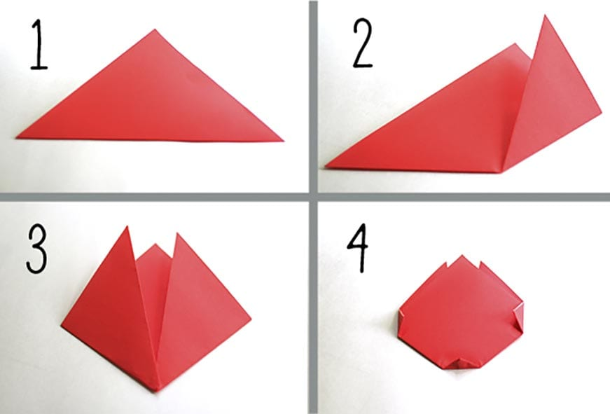 How to Make an Easy Origami Tulip  Origami Instructions