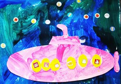 Подводная лодка на 23 февраля