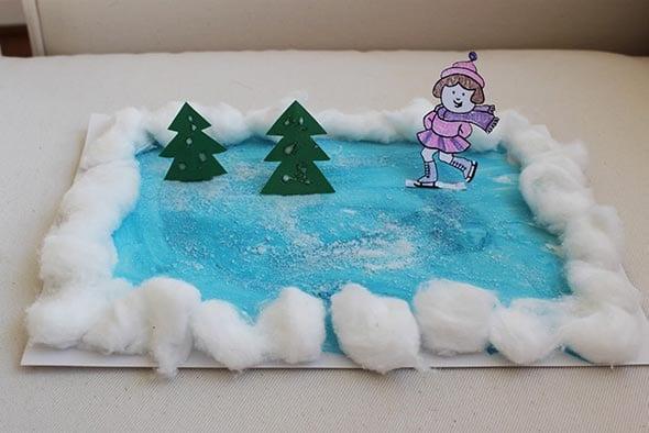 инструкция для зимы детский сад