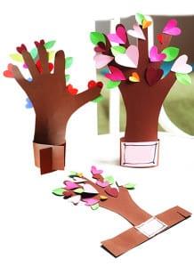 Поделка весеннее дерево 1