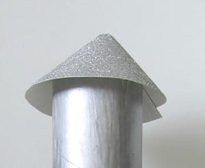 Закрепляем верхушку ракеты