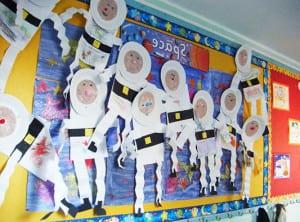 Выставка - космонавты