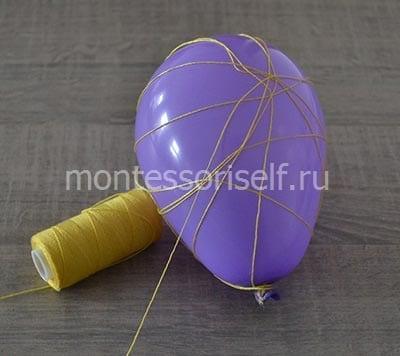 Обматываем шарик